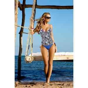 Дамски танкини,топ с дунапренови подплънки, L/XL размер, Seaside beachwear