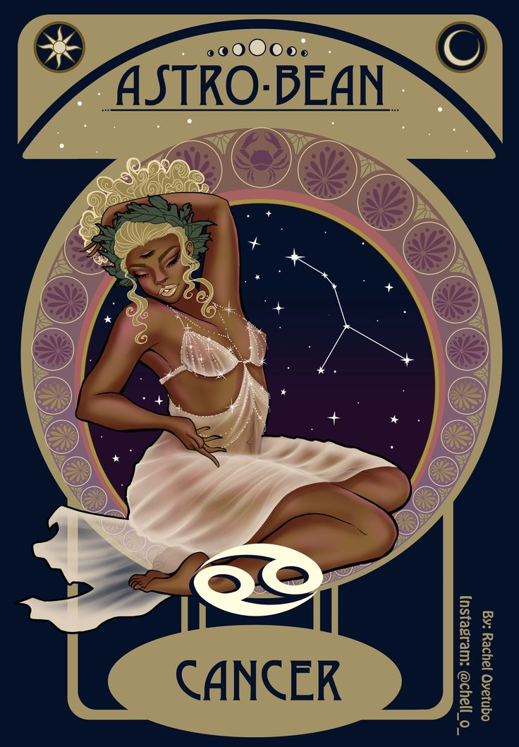 Astro-Bean is an advertisement campaign and packaging design for a coffee company. Astro-Bean is a coffee brand based off of the 12 celestial astrology signs. Black Love Art, Black Girl Art, Black Is Beautiful, Black Girl Magic, Cancer Zodiac Women, Cancer Zodiac Art, Cancer Tattoos, Black Girl Cartoon, Healing Crystals