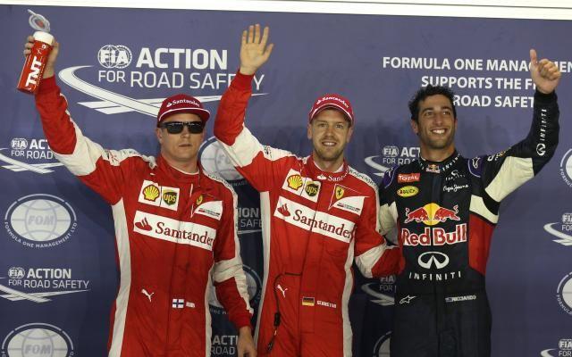 GP de Singapour: victoire de Sebastian Vettel, premier abandon pour Hamilton -                  L'Allemand Sebastian Vettel (Ferrari) a remporté le Grand Prix de Singapour de Formule 1, dimanche soir, soit sa 3e victoire cette année, devant la Red Bull de l'Australien Daniel Ricciardo et l'autre Ferrari du Finlandais Kimi Räikkönen.  http://si.rosselcdn.net/sites/default/files/imagecache/flowpublish_preset/2015/09/20/674417565_B976585