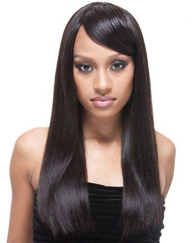 """Prestige/Legacy Yaky Weaving (Remy) by Janet Collection-16""""-FR4/30 by Janet Collection. $108.99. 113 grams of hair in one pack. Straight hair, mink yaky texture. 100% Remi Human Hair Weave. The most luxurious hair that Janet Collection carries."""