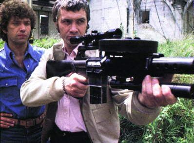 'The Professionals' TV series: Images of Bodie and Doyle - www.mark-1.co.uk