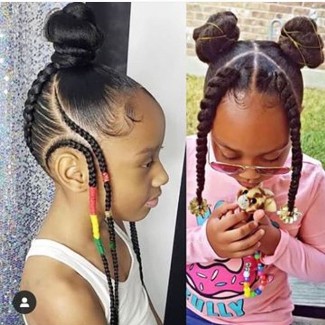 Pin By Mimi Gordon On Kids Braided Hairstyles Hair Styles Lil Girl Hairstyles Girls Hairstyles Braids