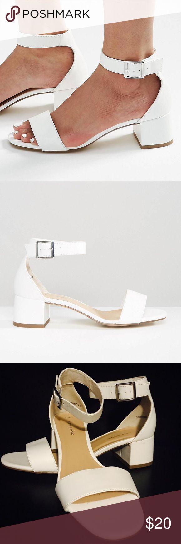 New Look Block Heel Sandal Worn once! ✨ Size US 7 / UK 5. New Look Shoes Sandals