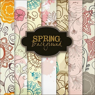 New Freebies Backgrounds spring flowers