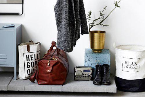 Panier sac à linge House Doctor - Plan to wash