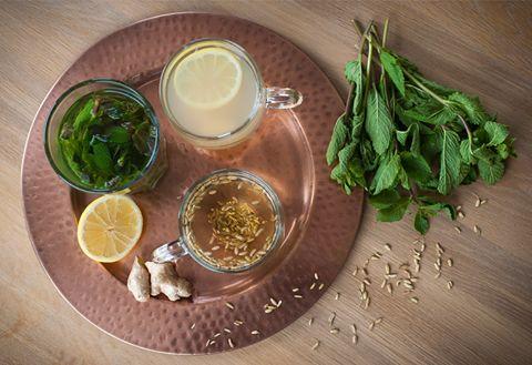 """Iedereen heeft wel eens te maken met darmklachten: een opgeblazen gevoel, krampen, flatulentie of soms zelfs misselijkheid na een maaltijd. """"Verteren"""" een combinatie van kruiden die werken op de spijsvertering ! Ingrediënten: groene thee, cichoreiwortel, venkel, gember, citroenverbena, salie, citroengras, pepermunt. www.delissebloem.be"""