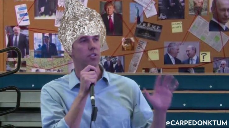 Conspiracy Theory Beto… Won't accept the Mueller Report