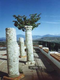 Columnas romanas ( Alhaurín el Grande)