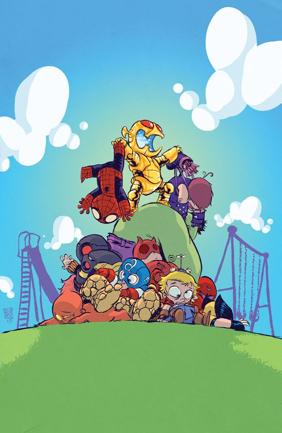 Skottie Young's Adorable AGE OF ULTRON #1 Variant Cover