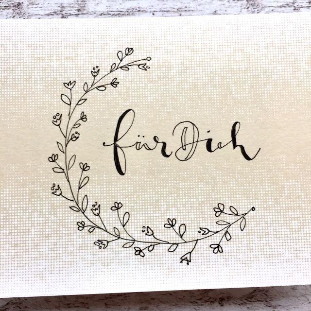 papierZART: Handlettering, Lettering, Faux Calligraphy, Moderncalligraphy, für …