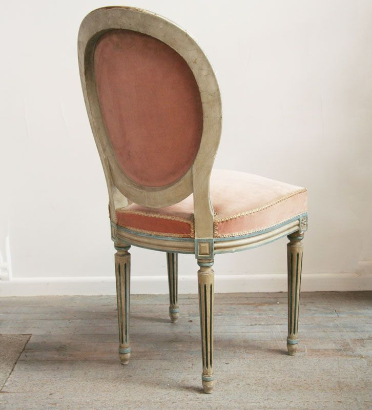 Pretty Louis 16 Style Dining Chairs 24