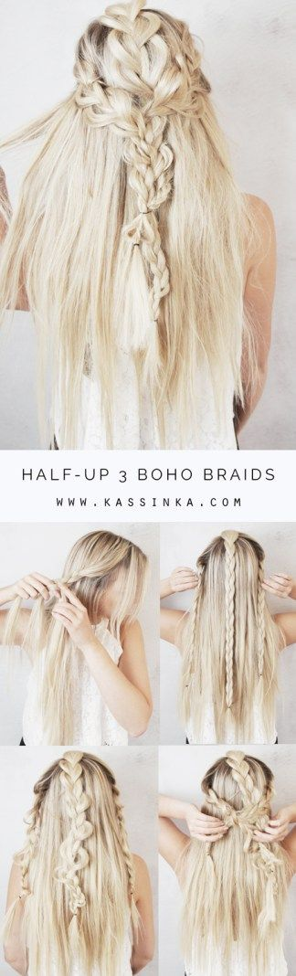 Still feeling those boho festival vibes even through summer is ending soon! I created this hair tutorialto help you always feel your best & look amazing. Read the steps below and then let me k…