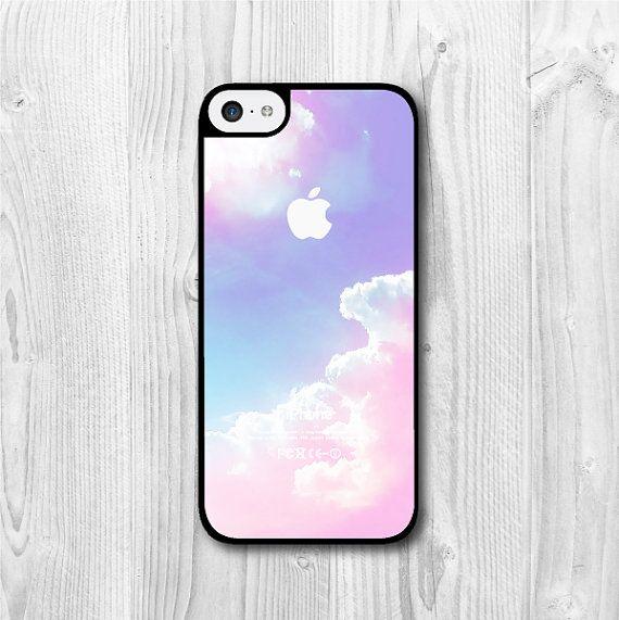 Pastel Pink Sky iPhone 5c case, iPhone 5c hard cover, cover skin case for iphone 5c cases (Hard Case / Rubber Case)