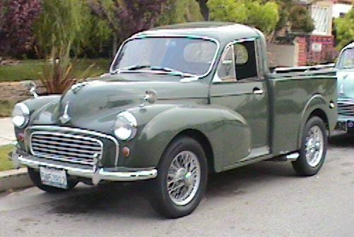 1960 Morris Minor Pickup - Pickup truck - Wikipedia, the free encyclopedia