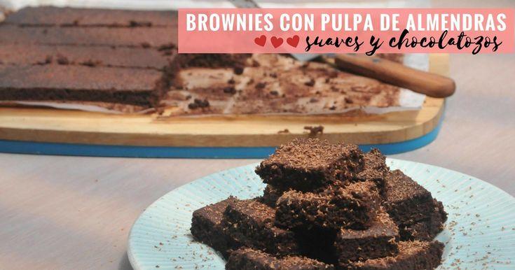 Cómo hacer brownies con pulpa de almendras