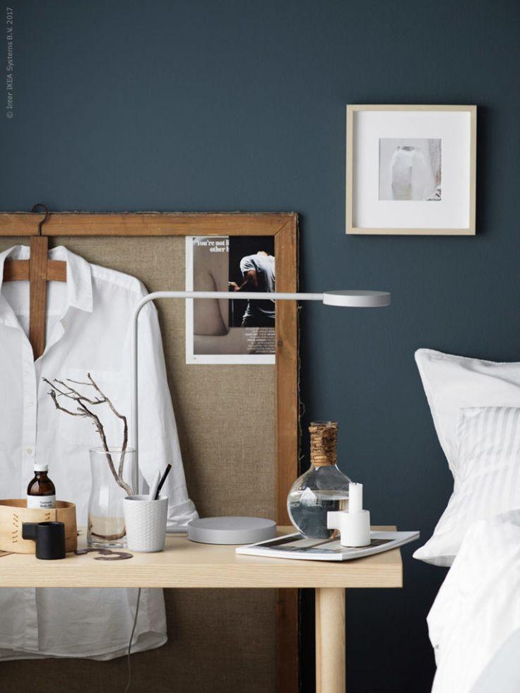 Bedroom inspo in blue | Stilinspiration