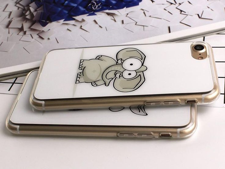 Cartoon Elephant Design Phone Case For iPhones - Kaptelli Store