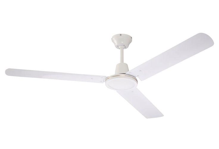 Ventilador de techo Inspire Acores blanco Ref. 14950964 - Leroy Merlin