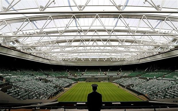 Wimbledon's Centre Court will be used to host the tennis medal finals at London 2012