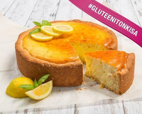 Sitruunajuustokakku, gluteeniton