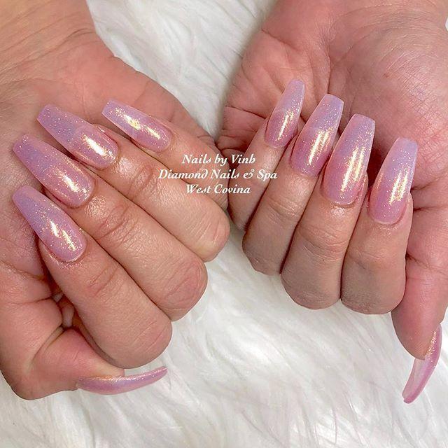 Nails By Vinh Using Sugarandcream With Swarovski Nailart Naildesign Nailartaddict Swarovskinails Toplinena Lines On Nails Diamond Nails Swarovski Nails