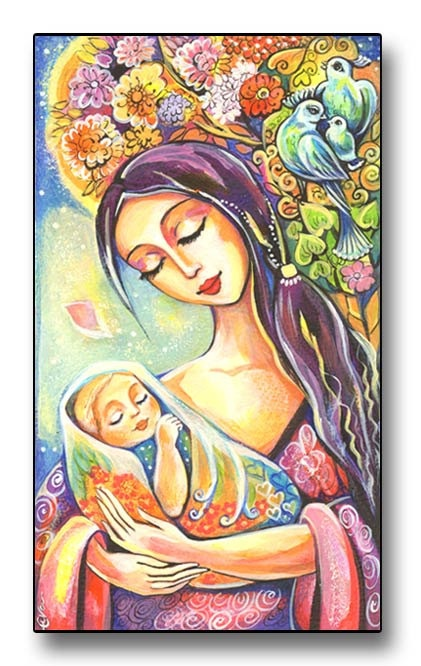 """""""Mother and Baby by Evitaworks"""