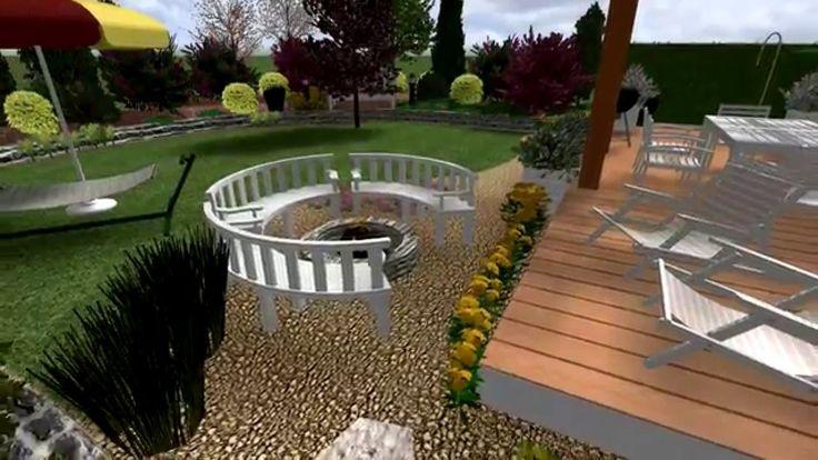 Návrh zahrady pro mladý pár na pardubicku - Hana Stránská