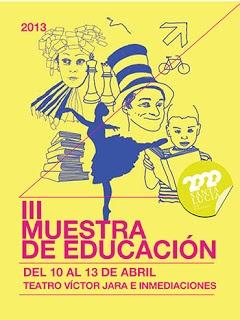 Ocio/Cultura - 10/04 a 13/04: III Muestra de Educación en Vecindario  El Ayuntamiento de Santa Lucía de Tirajana ha organizado la III Muestra de Educación, que ofrece una programación de Ocio y Cultura verdaderamente interesante y dirigida a un amplio abanico de público.
