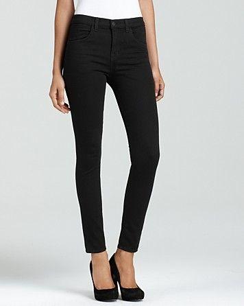 Maria High Rise Skinny Jeans in Hewson Wash   J Brand  $182.00