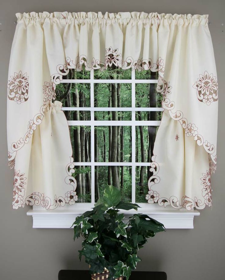 17 best images about tiers swags on pinterest heavy - Kmart kitchen curtains ...