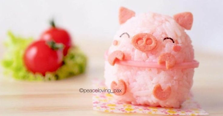 Amateur Food Artist Creates Adorable Rice Ball Characters That Are Almost Too Cute To Eat!