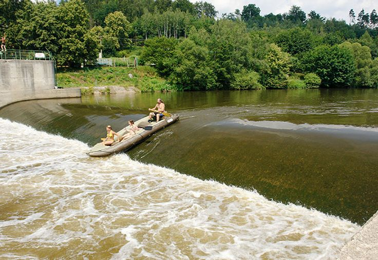 Czech Adventures event - Rafting on Ohre river