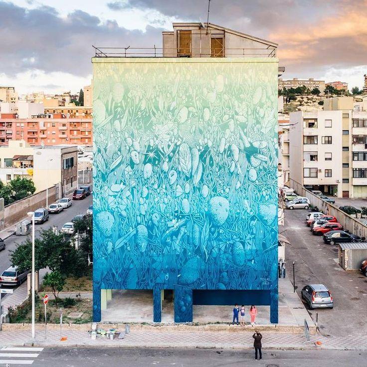 Amazing Abstract Street Art by Tellas – Fubiz Media #art #journal #inspiration www.agencyattorneys.com