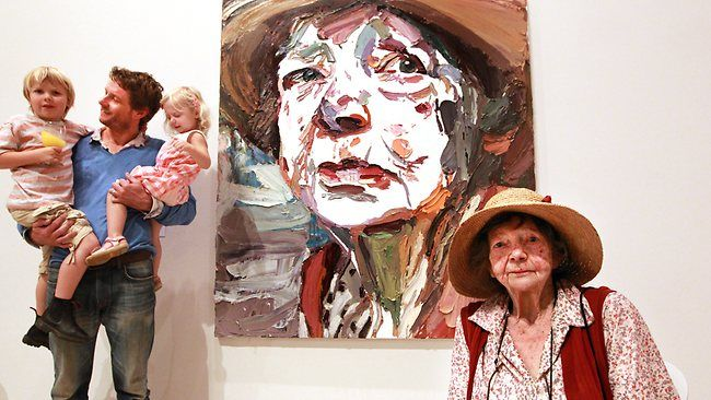 Ben Quilty & Margaret Olley - Archibald Prize (2011)