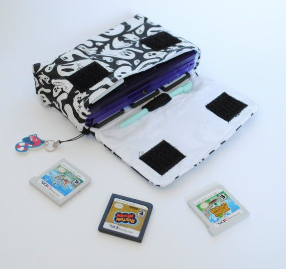Ghost 3DS / 3DS xL / New 3DS Carrying Case MADE TO by radtastical