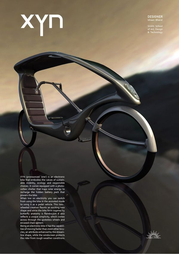 Xyn : eco bike on ID Magazine