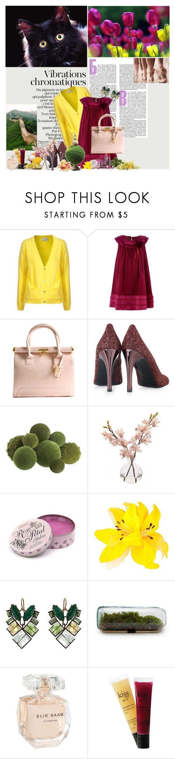 """""""Unbenannt #612"""" by the-dawn ❤ liked on Polyvore featuring FTC, Pedro García, Crate and Barrel, INC International Concepts, Rose & Co., MOOD, Home Decorators Collection, Nak Armstrong, Elie Saab and philosophy"""