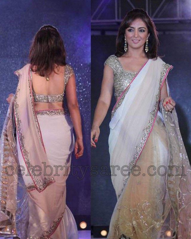 Saree Blouse Patterns: Manish Malhotra