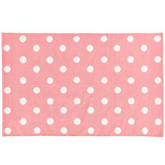 Great Lotsa Polka Dots Rug (Pink) 8x10 $249