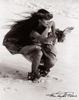 hula kahiko - wahine Kim Taylor Reece photographer extraordinaire