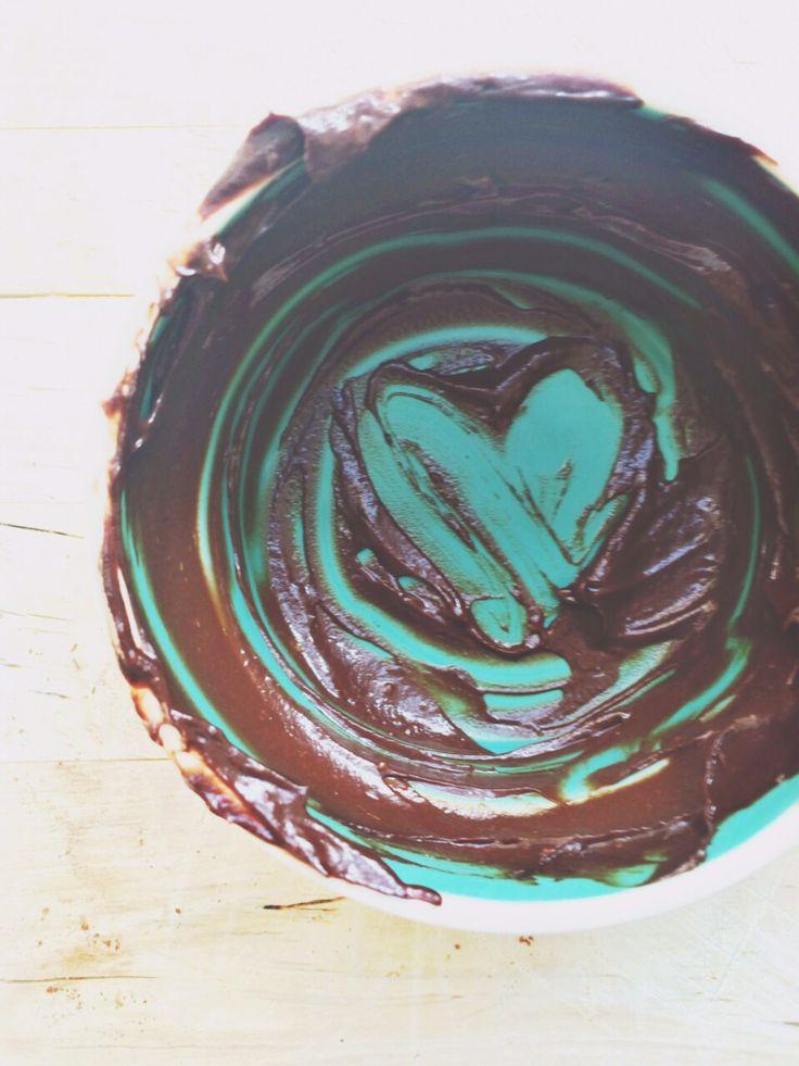 Love... Chocalat-avocado !!