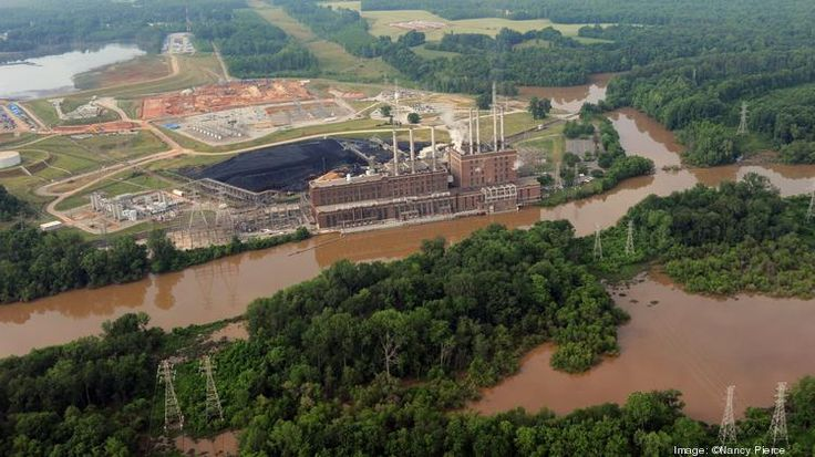 Oct 21 2015 Charlotte Business Journal Judge blasts N.C. regulators in frederal ruling on Duke Energy coal-ash case photo:  Duke Energy's (NYSE:DUK) shuttered Buck Steam Station in Rowan County is the subject of a civil suit bought by the Yadkin Riverkeeper over environmental violations related to coal ash.