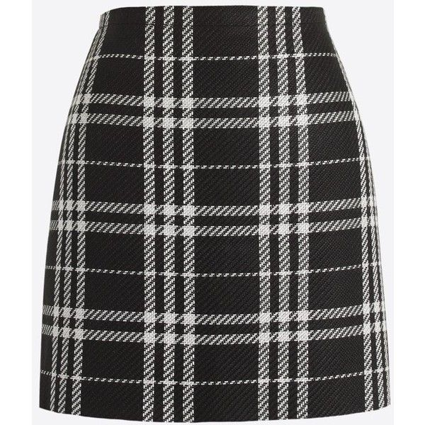 J.Crew Plaid mini skirt found on Polyvore featuring skirts, mini skirts, bottoms, saias, tartan plaid skirt, plaid miniskirt, j. crew skirts, short skirts and tartan skirt