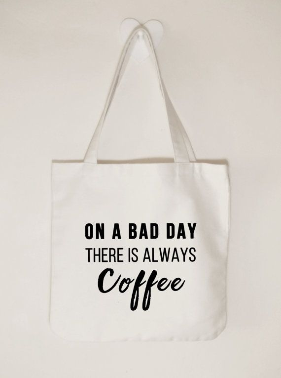 On a bad day there is always coffee Cotton by ToastStationery
