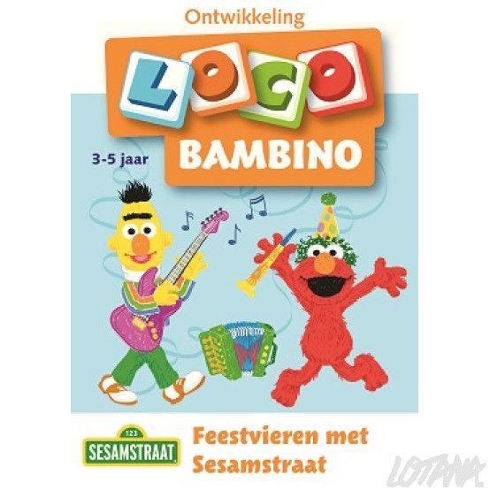 Bambino Loco boekje - Feestvieren met Sesamstraat (3-5 jaar)