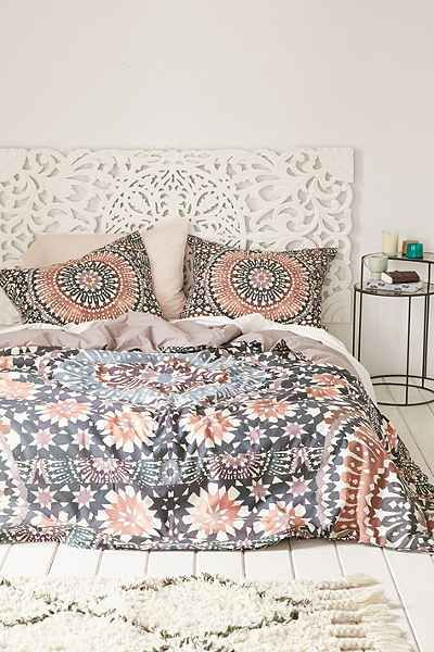 Magical Thinking Black + White Elephant Duvet Cover - Urban Outfitters