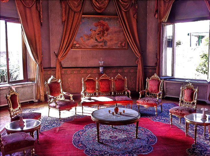 Reception room at the house of a Russian nobleman who worked for the Tsar. In Trabzon