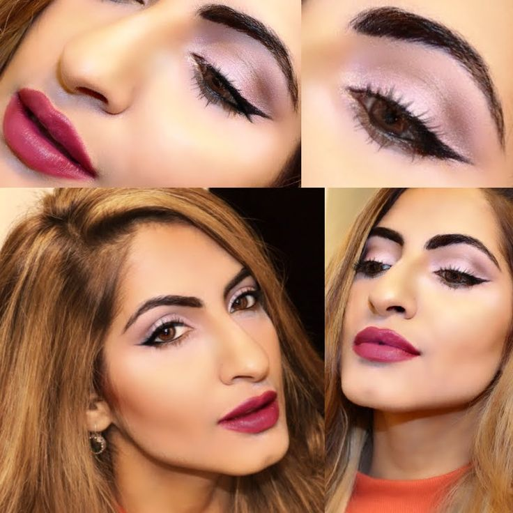 Soft Pink Eyeshadow Full Face Glam Makeup Tutorial