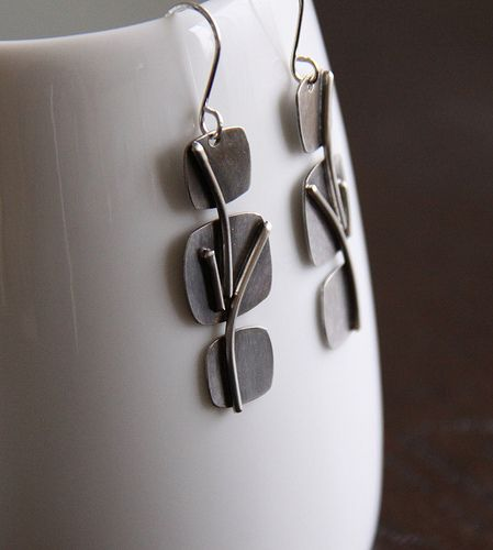 Sterling silver earrings | Flickr - Photo Sharing!