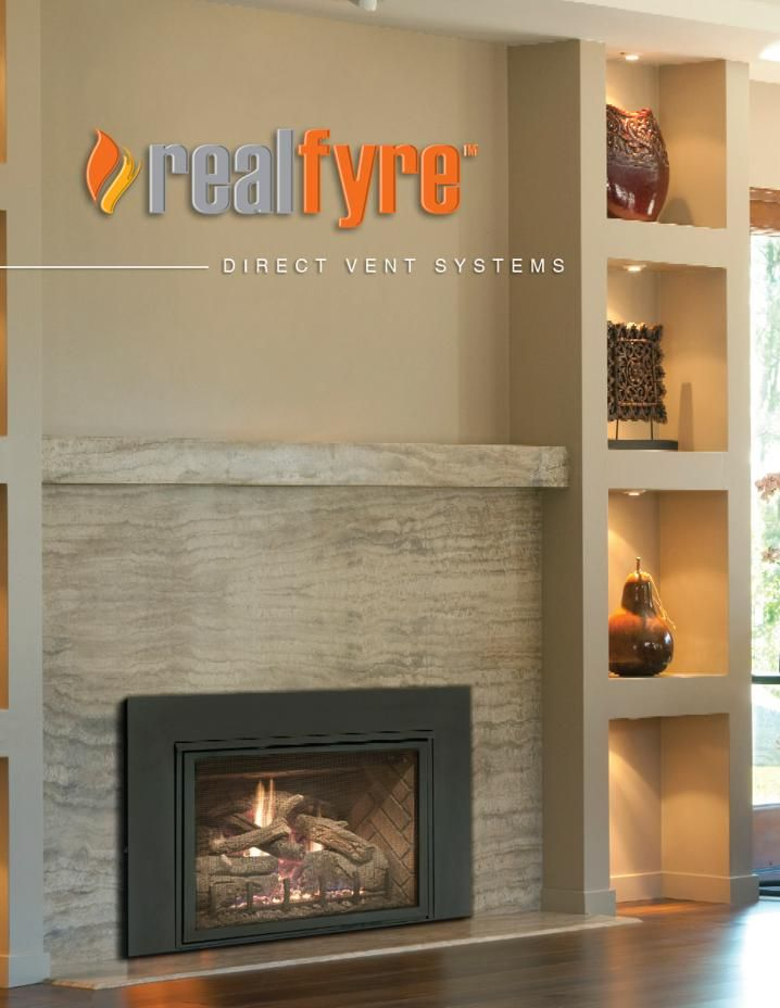 R H Peterson Direct Vent Gas Fireplace Insert Gas Fireplace